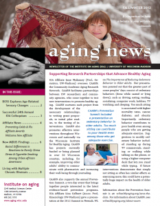 Supporting Research Partnerships that Advance Healthy Aging