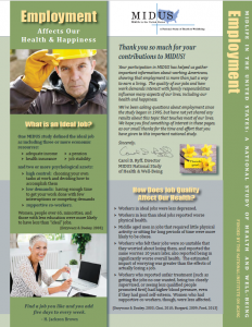 Employment Newsletter Front Page
